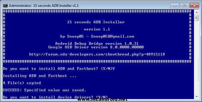 ADB Install Drivers طريقه تثبيت ADB و Fastboot علي الويندوز في ثواني