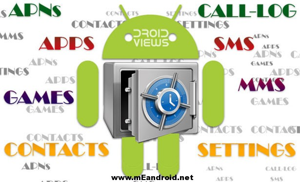 Backup Your Apps Android اسهل طرق النسخ الاحتياطي و استعاده البيانات للاندرويد