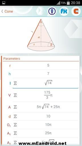 geometry solver 33 1 s 307x512 برنامج حل المعادلات الهندسيه Geometry Solver Pro v1.27 للاندرويد