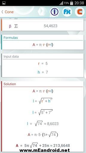 geometry solver 33 2 s 307x512 برنامج حل المعادلات الهندسيه Geometry Solver Pro v1.27 للاندرويد