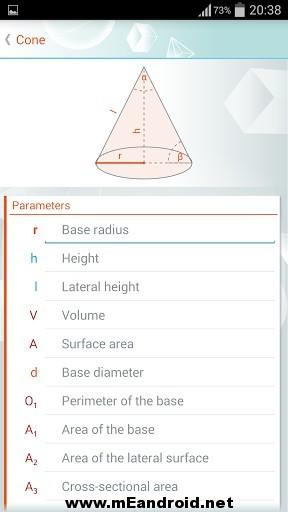 geometry solver 33 3 s 307x512 برنامج حل المعادلات الهندسيه Geometry Solver Pro v1.27 للاندرويد