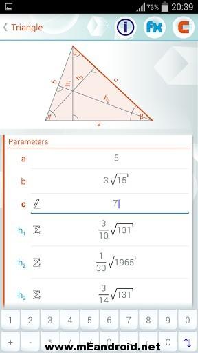 geometry solver 33 6 s 307x512 برنامج حل المعادلات الهندسيه Geometry Solver Pro v1.27 للاندرويد