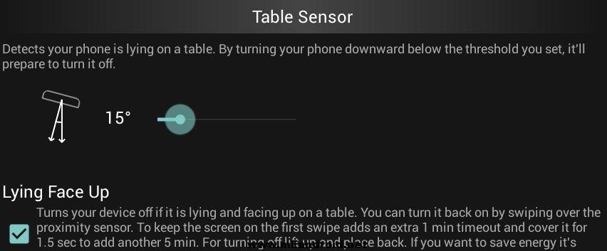 gravity screen table sensor تشغيل و اغلاق شاشه هاتفك بشكل اتوماتيكي