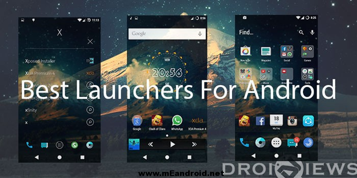launchers إليكم قائمه بافضل 5 لانشرات للاندرويد