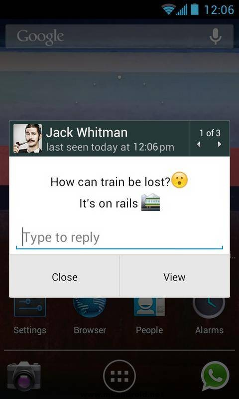 whatsapp messenger 2 تحميل الواتس اب الاصدار الاخير WhatsApp Messenger 2.12.202