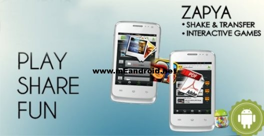برنامج Zapya لمشاركه الملفات بين منصات التشغيل المختلفه