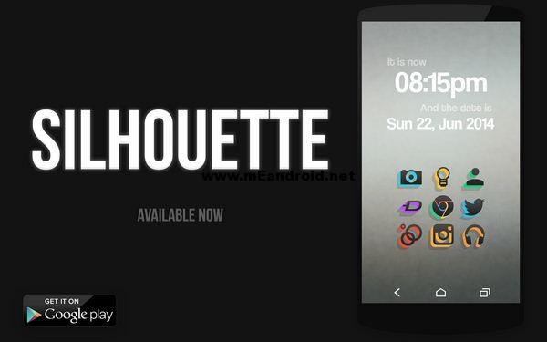 Silhouette Icon Pack افضل 10 تطبيقات و العاب اندرويد هذا الاسبوع ح1