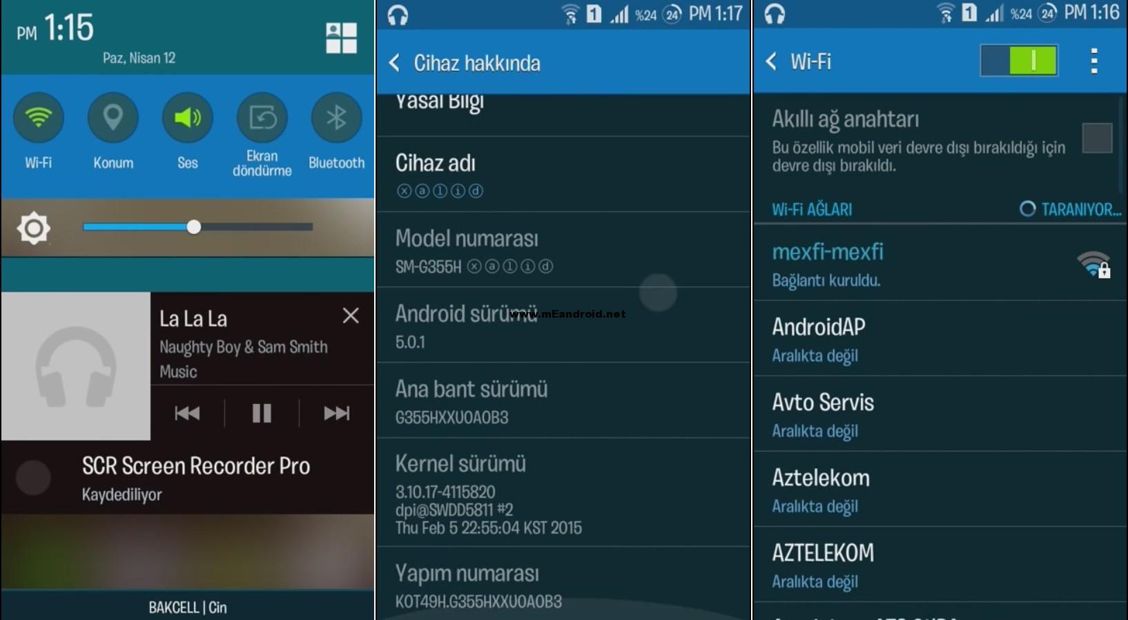 روم اندرويد 5 لولي بوب لهاتف Galaxy Core 2 SM-G355H