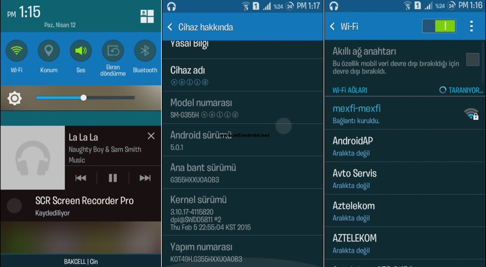 Galaxy Core 2 SM G355H Android 5.0 Lollipop ROM screenshot 2 روم اندرويد 5 لولي بوب لهاتف Galaxy Core 2 SM G355H