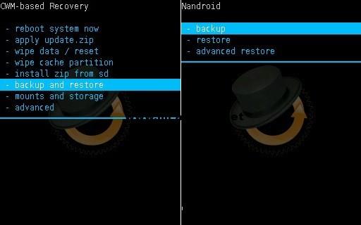 Nandroid backup screenshot 1 شرح تركيب روم اندرويد 5 لولي بوب لهاتف Samsung Galaxy Core i8262
