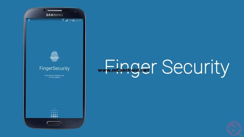 Finger Security لحمايه التطبيقات بأستخدام بصمه الاصبع