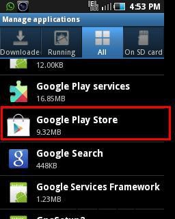 Google Play Store Error 495-google play store app