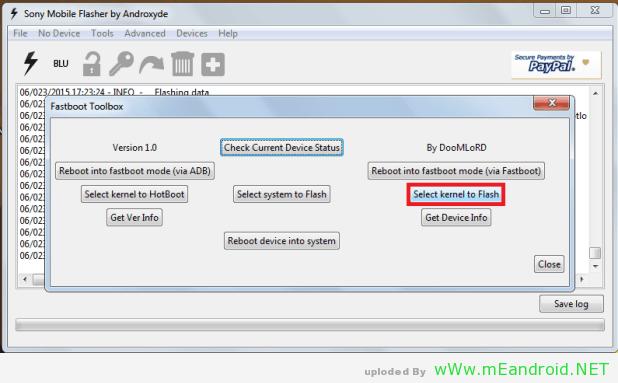 8 استرجاع DRM Keys لهاتف XPERIA Z3 بعد فتح Bootloader