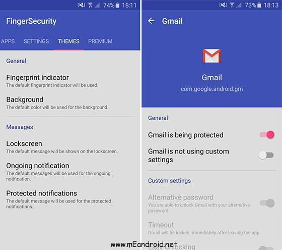 Download FingerSecurity Premium Apk latest تحميل برنامج قفل هاتفك ببصمه الاصبع التسخه المدفوعه