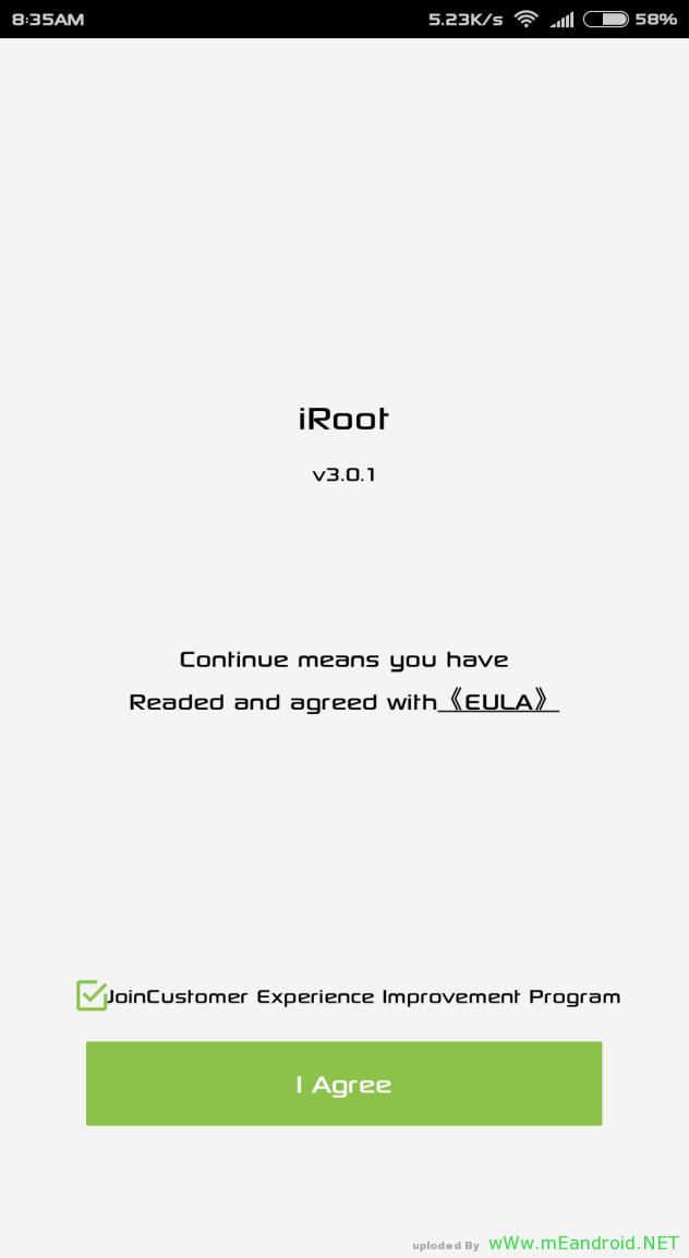 Screenshot 2016 01 31 08 35 11 com.mgyun .shua .su  تحميل برنامج iRoot v3.0.1 لعمل روت لاي هاتف اندرويد