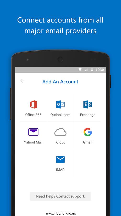 microsoft outlook screenshot 2 تحميل تطبيق Microsoft Outlook 2.0.25