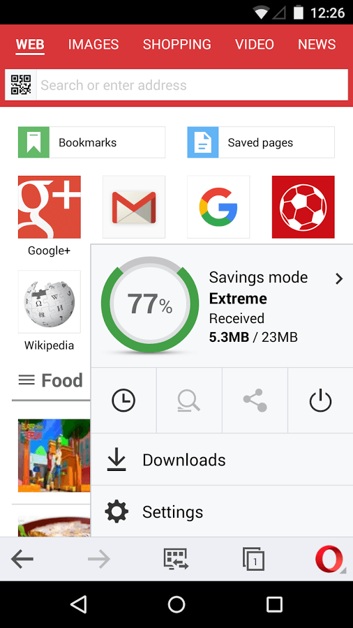 opera mini browser beta screenshot 1 تحميل برنامج  Opera Mini browser beta 14.0.2065 للاندويد