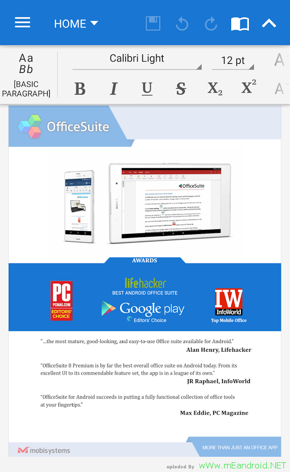 0sgMnT تحميل تطبيق الاوفيس للاندرويد OfficeSuite 8.6.4784