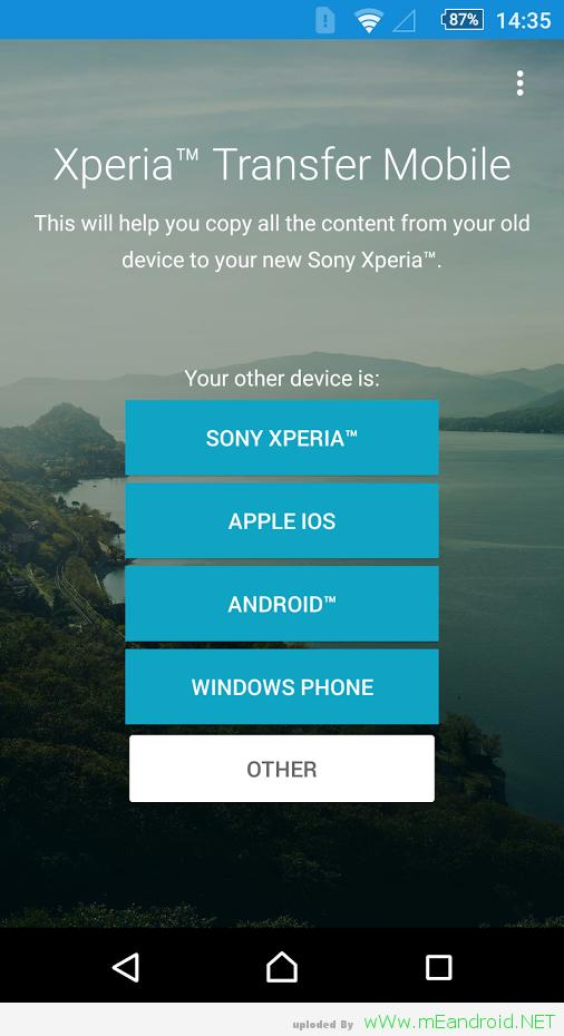 تحميل تطبيق Xperia™ Transfer Mobile 2.2.A.2.2