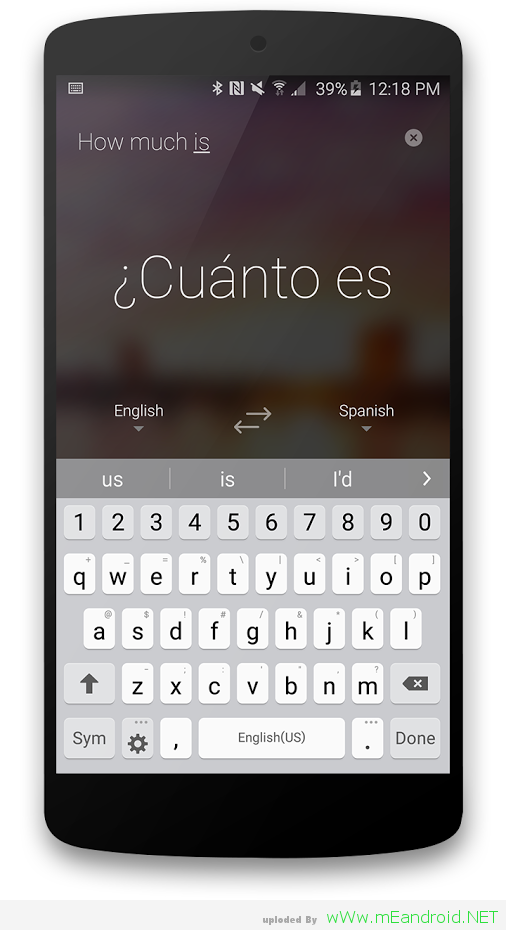 KGhogo تحميل تطبيق مايكروسوفت للترجمه Microsoft Translator 1.3.0.61