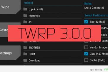 شرح تركيب TWRP 3.0.0 ريكفري لهاتف Samsung Galaxy Ace 3