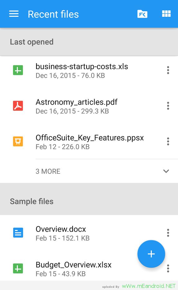 XieWfC تحميل تطبيق الاوفيس للاندرويد OfficeSuite 8.6.4784