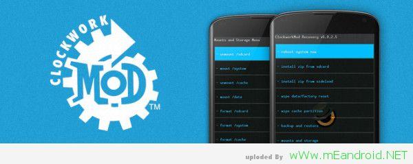 ريكفري ClockworkMod المعدل لهاتف Galaxy Note 3 LTE N9005