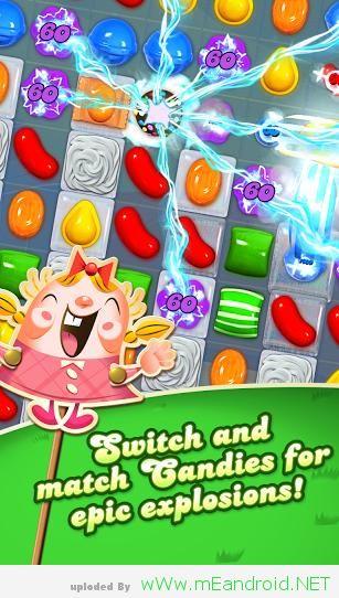 تحميل لعبه كاندي كراش Candy Crush Saga 1.68.0.3
