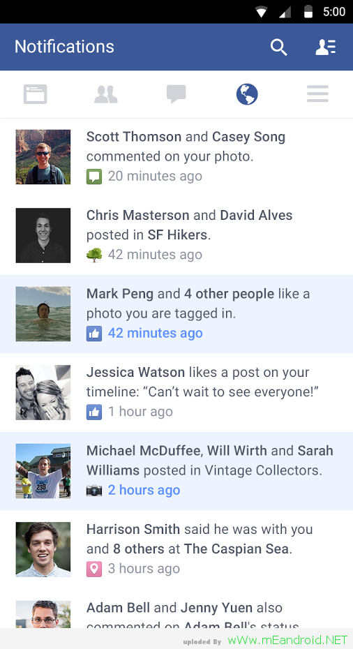 تحميل تطبيق فيس بوك Facebook 67.0.0.0.96 اندرويد 4.03