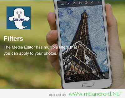 Filters and effects for photos تحميل تطبيق كاسبر  Casper 1.5.6.4 APK اخر اصدار 2017