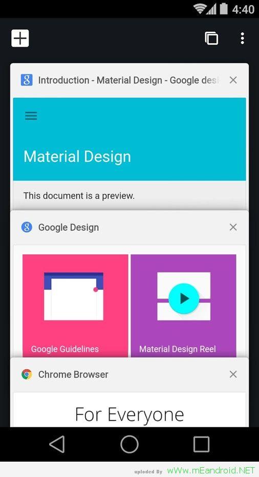 تحميل تطبيق جوجل كروم للاندرويد Chrome Beta 50.0.2661.35