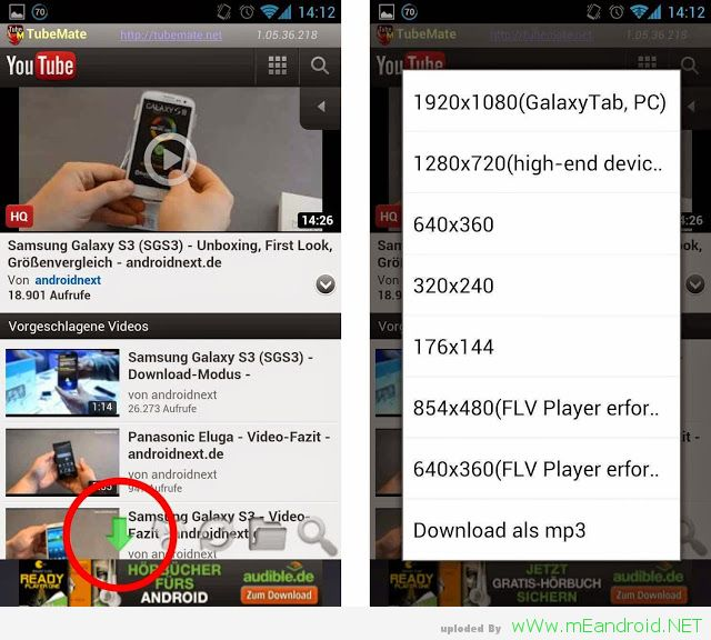 tubemate download youtube video شرح وتحميل برنامج TubeMate YouTube Downloader 2.2.8