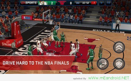 E5c7Ft تحميل لعبه كرة السله للاندرويد NBA LIVE Mobile 1.0.8