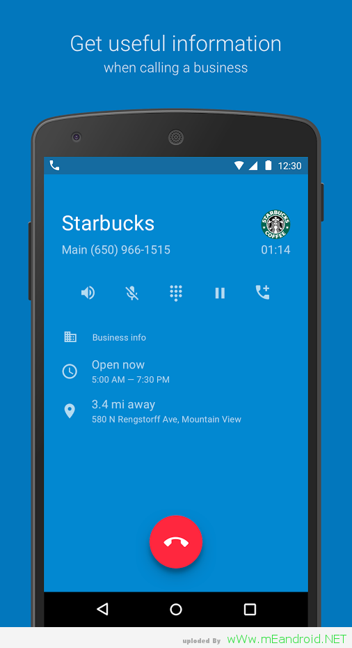 تحميل تطبيق جوجل فون Google Phone 2.05.07