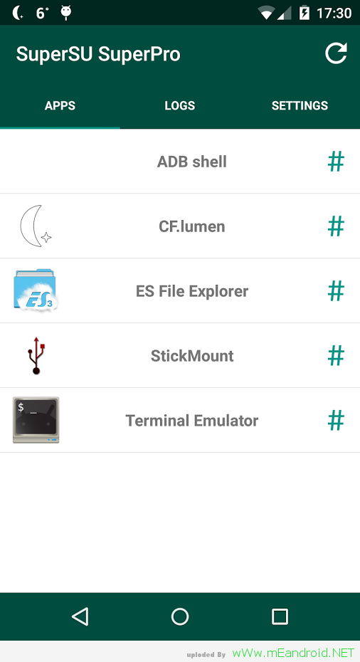 5hahqu تحميل سوبر إس يو SuperSU 2.78 APK النسخه الذهبيه