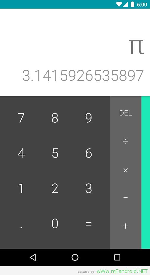 تحميل آله حاسبه جوجل Google Calculator 7.0