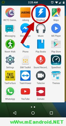 KingRoot Installed افضل طرق عمل روت لهاتف HTC One M9