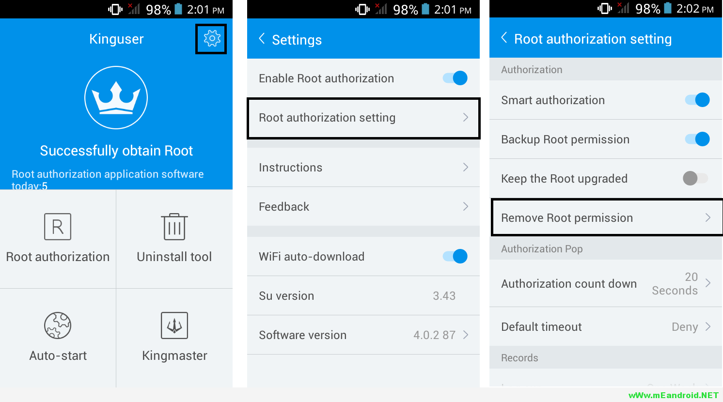 Unroot Kinguser شرح طرق ترويت هاتف Motorola Moto G4 Plus كامله