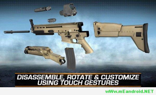 gun builder elite apk 3 600x337 تحميل لعبه Gun Builder ELITE Apk v3.1.5 كامله معدله