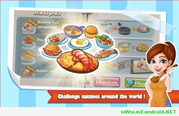 rising super chef apk 3 600x360 لعبه الطبخ Cooking Game v1.6.9 Apk اخر اصدار