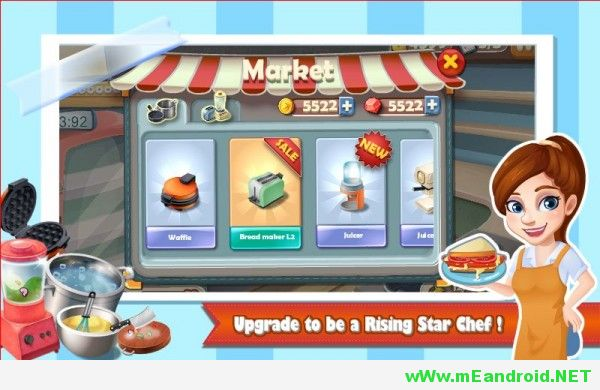 rising super chef apk 600x360 لعبه الطبخ Cooking Game v1.6.9 Apk اخر اصدار