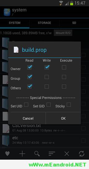 unnamed 32 تحميل اخر اصدار من روت إكسبلور Root Explorer v4.0.3 APK