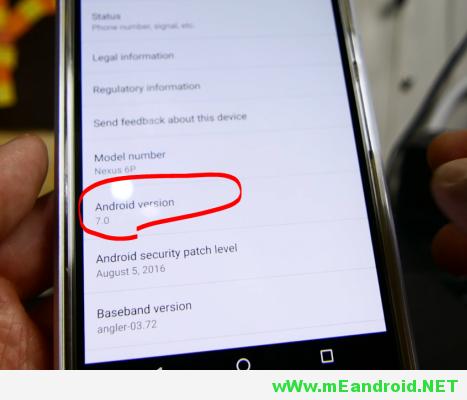 11 شرح تثبيت اندرويد 7.0 نوجا لجميع هواتف Nexus
