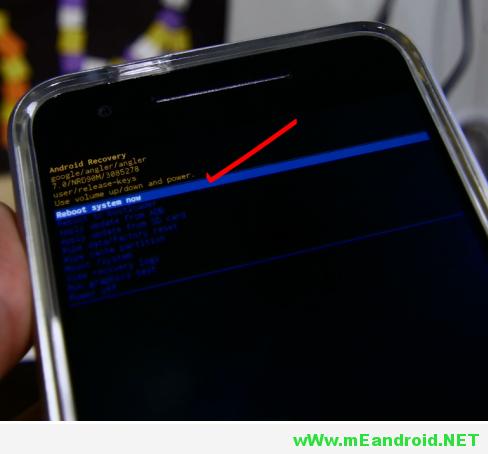 9 شرح تثبيت اندرويد 7.0 نوجا لجميع هواتف Nexus