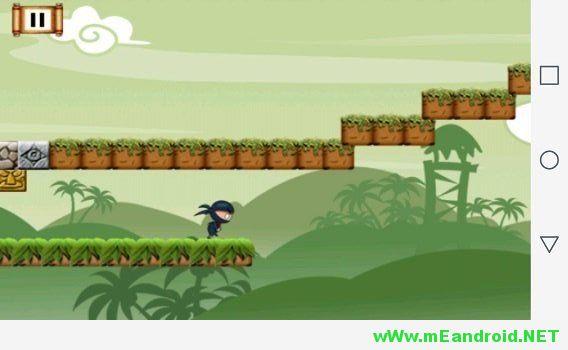 Yoo Ninja Game افضل 10 العاب اندرويد ذات حجم صغير لا يتعدي 15 ميجا
