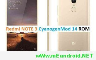 redmi-note-3-cm14-cyanogenmod14-nougat