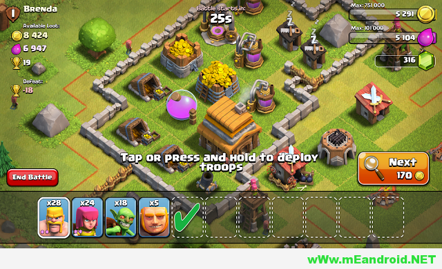 Screenshot 2014 06 11 19 52 32 شرح لعبه كلاش اوف كلانس Clash of Clans APK 2017