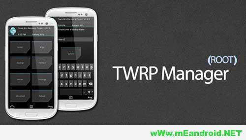 نتيجة بحث الصور عن TWRP Manager APK