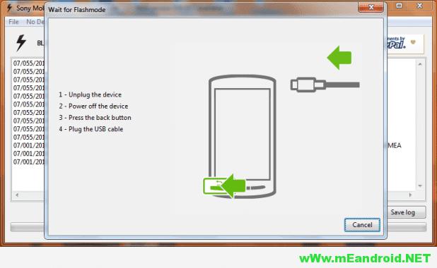 Flashtool18 شرح تفليش روم اندرويد 6.0 مارشيملو لهاتف Sony Xperia XA Ultra F3211