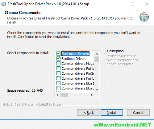 MM Xperia Guide Flashtool Drivers تحميل و تثبيت اندرويد 4.4 كيت كات Sony Xperia E3 Dual D2212